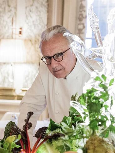 Alain Ducasse, el chef con más estrellas Michelin del mundo