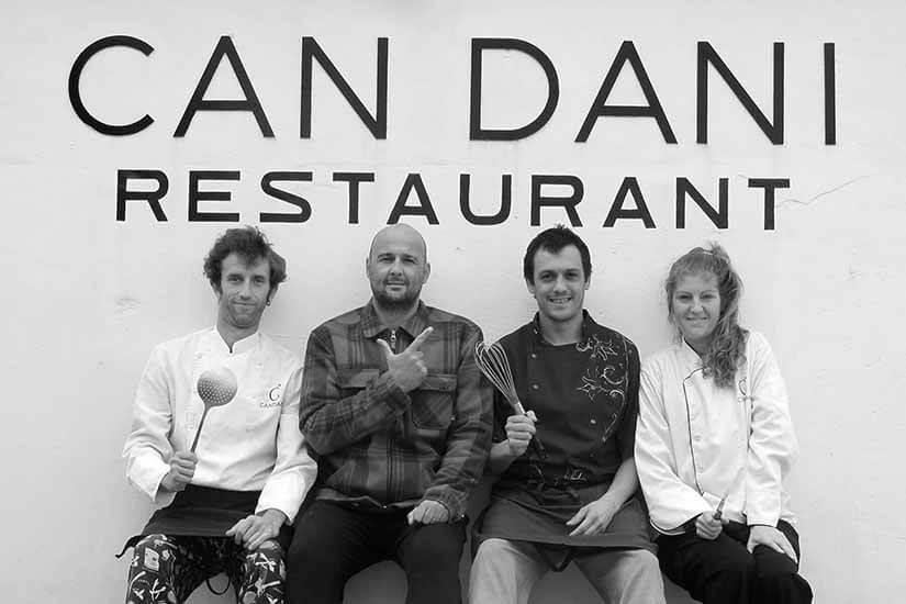 Can Dani, first Michelin starred menu in Formentera