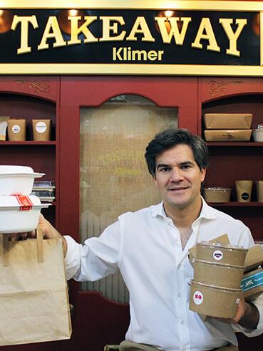 David Ramos, CEO de Klimer. El rey de los envases Take Away