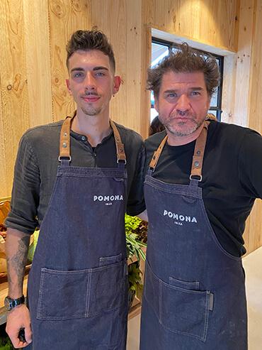 POMONA IBIZA el nuevo proyecto gastro del chef David Reartes