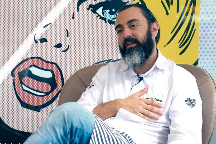 Interview with Rafa Zafra, 1 Michelin star and 2 Repsol suns