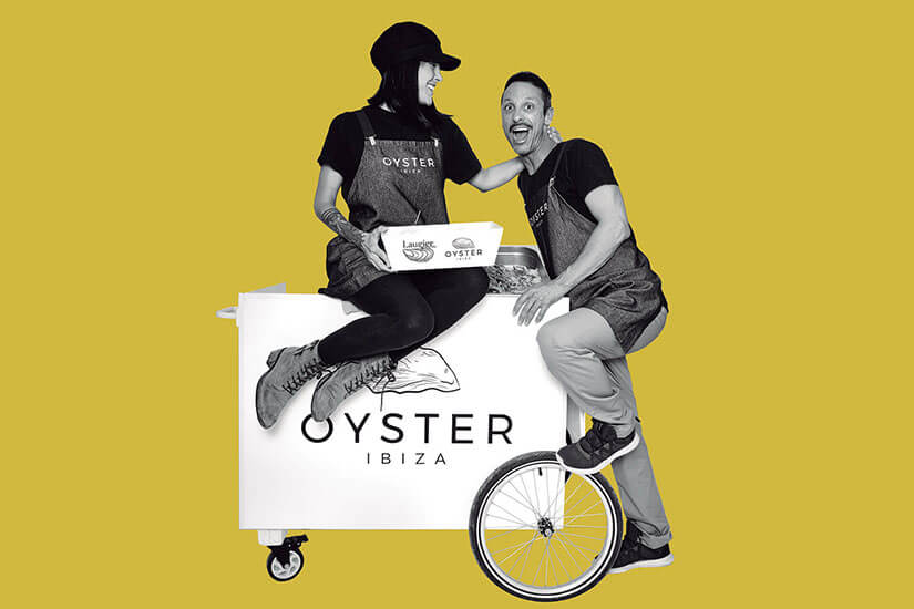 Oyster Ibiza. Oysters knocking on your door