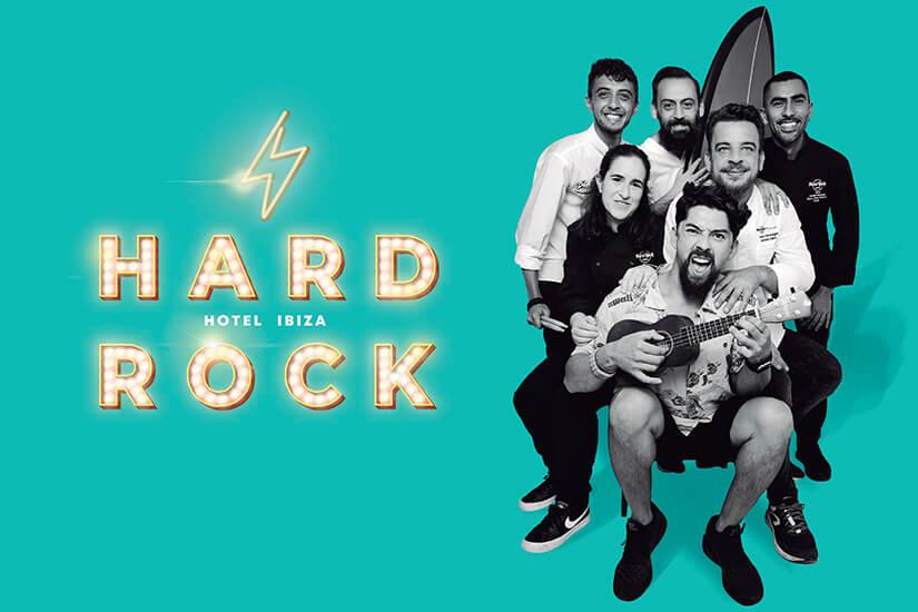 Hard Rock Hotel Ibiza, MUSIC AND GASTRONOMY