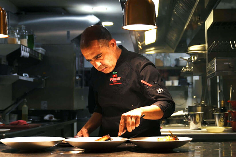 We spoke with Luis Lassa, Head Chef of Pacha Restaurant