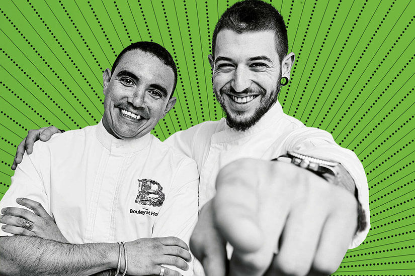Hendrix Vega and Joan Costa, the new generation of Formentera cuisine