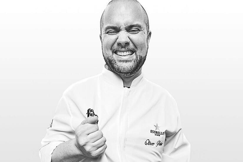Entrevista a Óliver Peña, chef ejecutivo de 'Enigma'