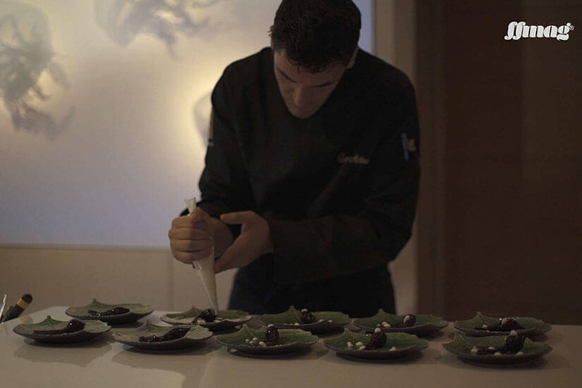 Interview with Óscar Molina. Executive chef at the La Gaia restaurant in Ibiza Gran Hotel