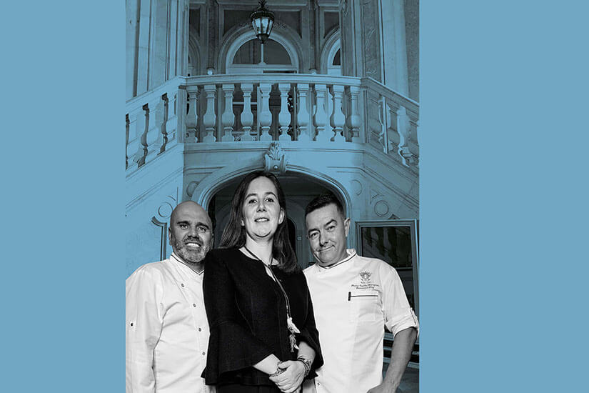 Pestana Palace Lisboa and Pestana Cidadela Cascais, history at the table