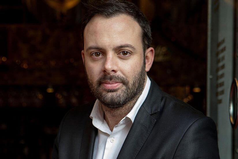 Xavi Alba, jefe de sala de Tickets, representó a los profesionales de la sala como ponente en 'We Are FaceFood'