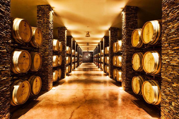 Adega de vinhos Herdade Dos Grous