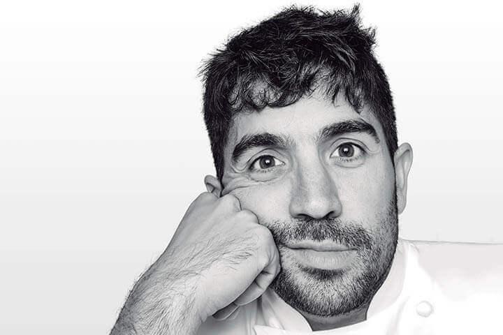 Chef Álvaro sanz del restaurante Es Tragón