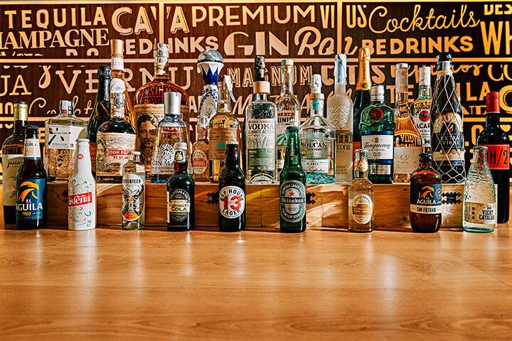 Bebidas distribuidas por BEdrinks en Ibiza y Formentera