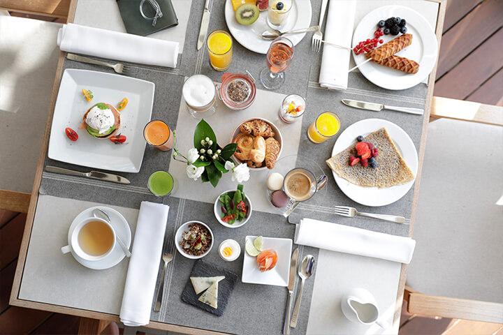 Costa Mara Restaurant breakfast. Ibiza Gran Hotel