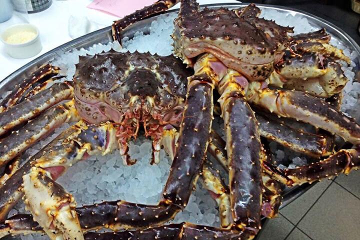 King crab o cangrejo real ruso