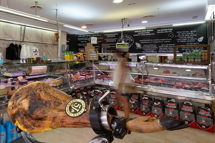 Carnes Joaquín. Butcher's shop. Ibiza