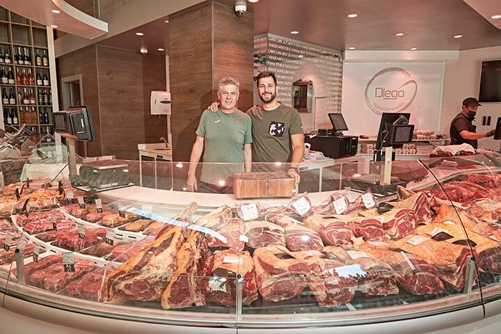 Diego e Iván Chacón. Carnes Diego, Ibiza