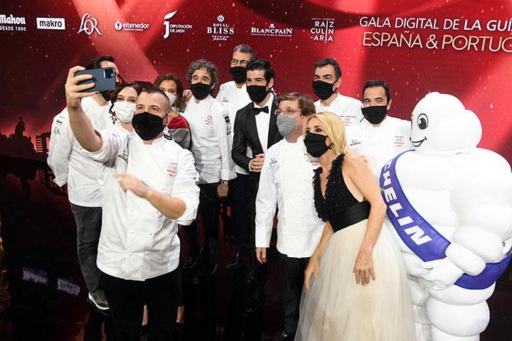 Autoridades, chefs y presentadores en la Gala de la guía Michelin España y Portugal 2021