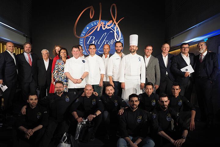 Jurado y finalistas del Concurso Chef Balfegó 2021