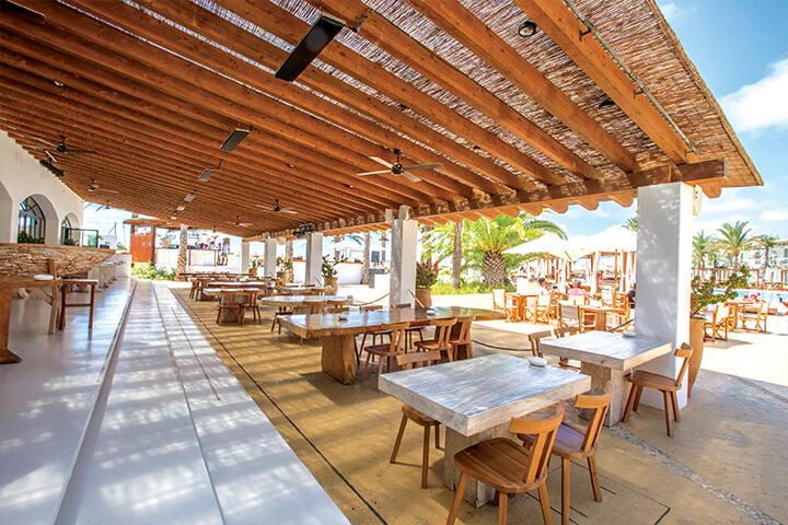 D-Lounge restaurant at Destino Pacha, Ibiza