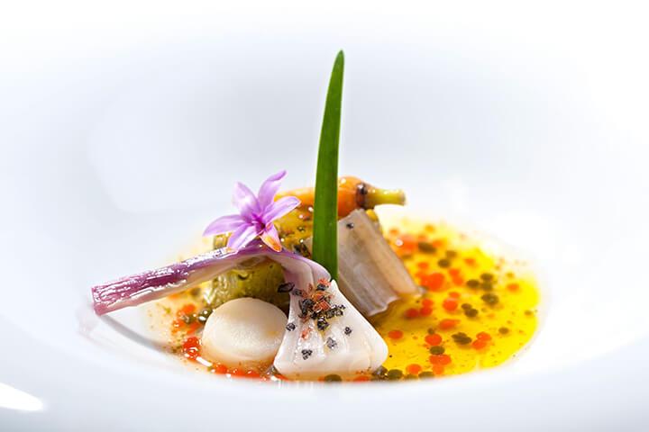 Restaurante El Corral del indianu. Arriondas, Asturias. 1 estrella Michelin