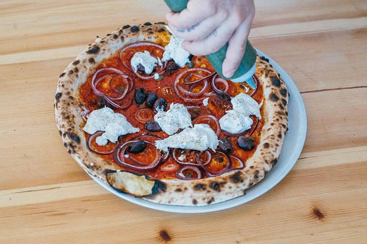 Pizza Al Capone. Can Pizza Ibiza