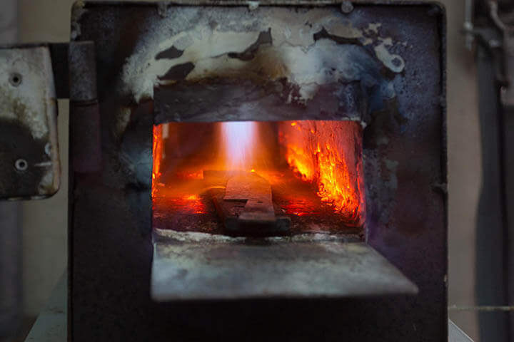 Forging furnance. Juan Boned