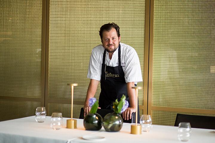 João Rodrigues, propietario del restaurante Feitoría en Lisboa