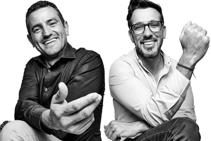 Marcos Serra Alcalde y Miguel Tur Concejal de Turismo, Fiestas y Participación Ciudadana de Sant Antoni de Portmany