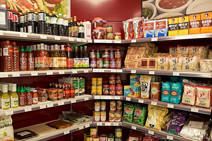 Asiatic products. Hermanos Meneghello, Ibiza