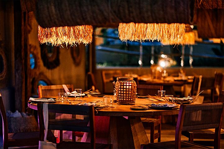 Pecador Ibiza restaurant.