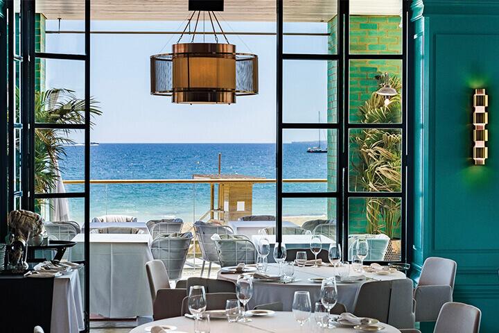 Tatel restaurante en Hard Rock Hotel Ibiza
