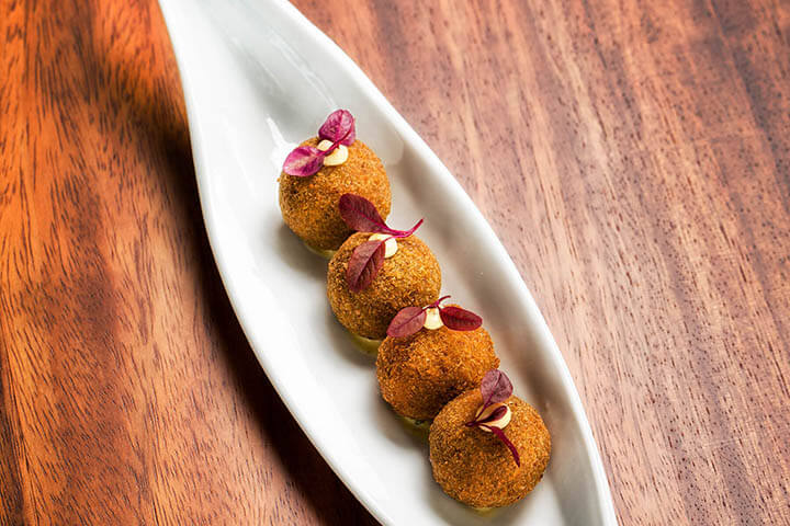 Oxtail croquettes. Rossio Gastrobar