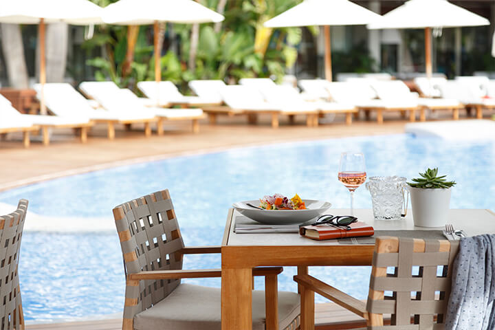 Pool Restaurant. Ibiza Gran Hotel