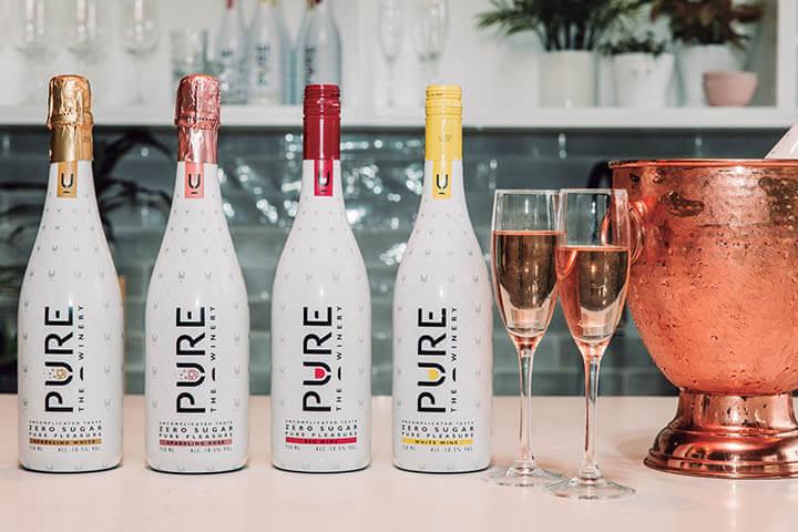 Variedades de vino Pure The Winery