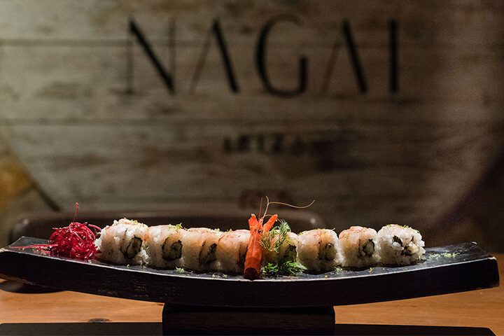 Restaurante Nagai Ibiza, Ibiza. 1 Sol Guía Repsol