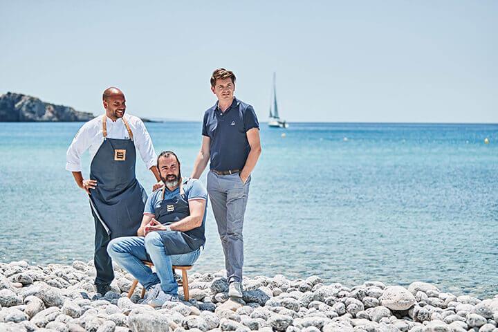 Team chiringuito Jondal, Ibiza