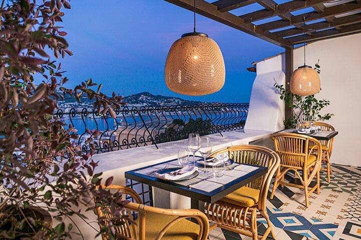 Terraza del restaurante Corsario Restaurante & Terrace