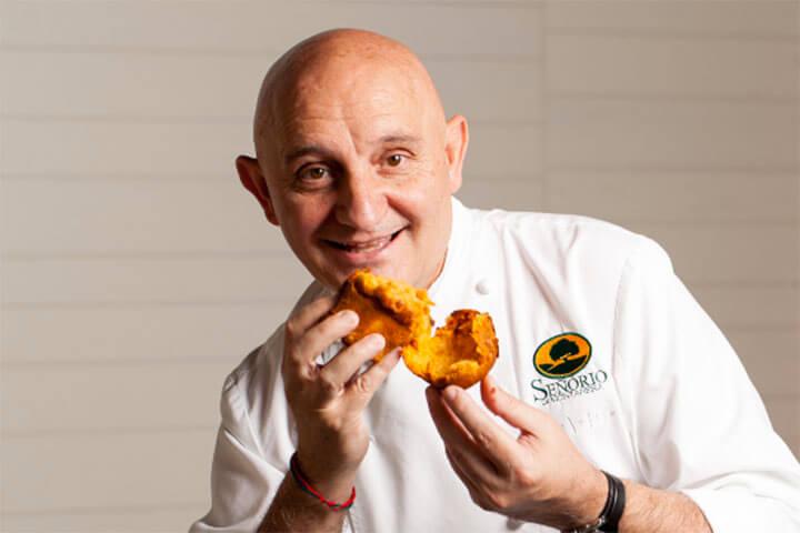 Chef Toño Pérez. Gastronomika 2020