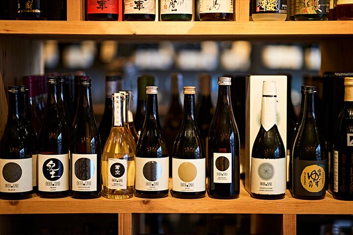 Selection of sake. Vino & Co. Ibiza