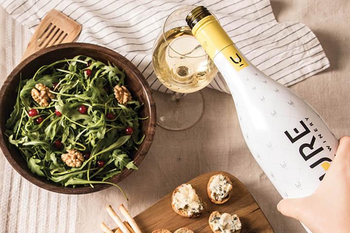 White wine Pure The Winery
