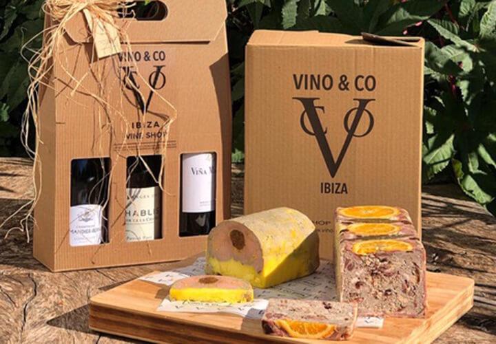 Wine and pate. Vino&Co, Ibiza