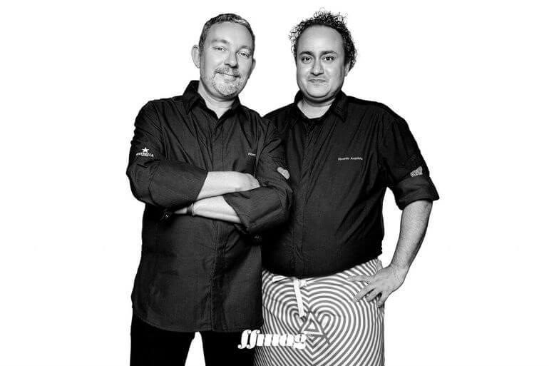 Albert Adriŕ y Ricardo Acquista. Heart Ibiza