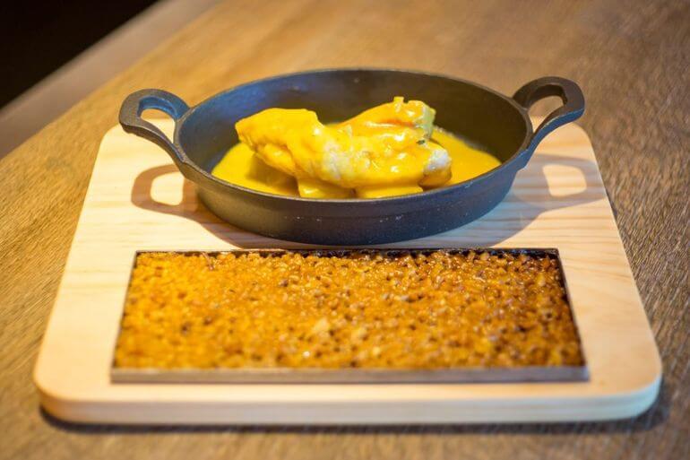 Bullit de peix con arroz a banda. Restaurante Sa Brisa, Ibiza
