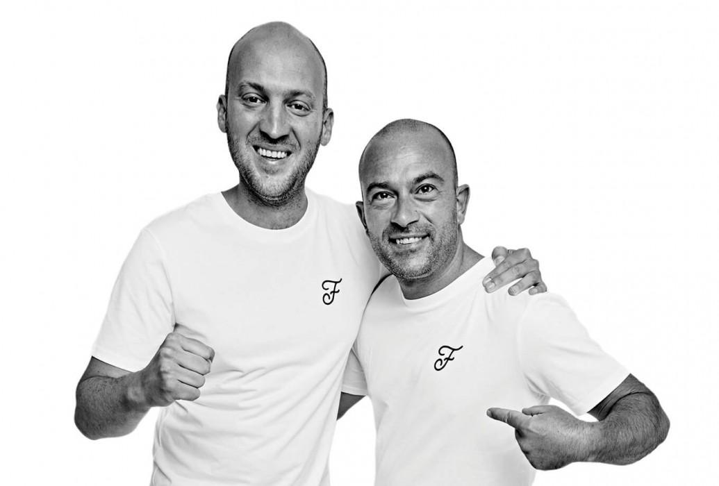 Carlos Gómez y Fabio Maria Iovane. Managers restaurante Fandango, Formentera