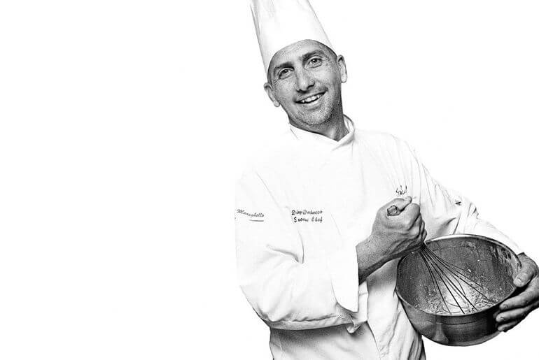 Chef Diego Dechecco. Restaurante Sa Punta. Ibiza