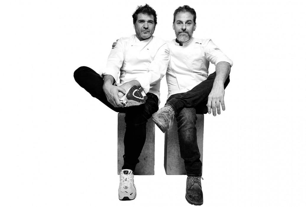 David Reartes y Matías Kelly. Restaurante Re.Art, Ibiza