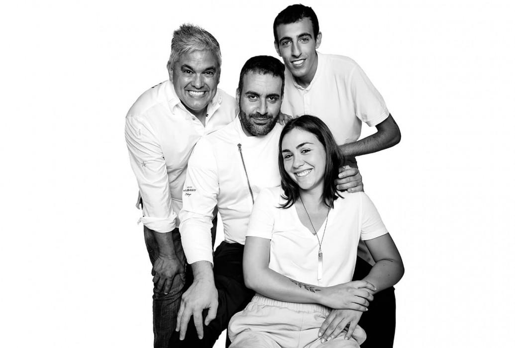 Nandu Jubany, Fran Jiménez, Sergi Lillo y Clara Alcaraz. Es Còdol Foradat