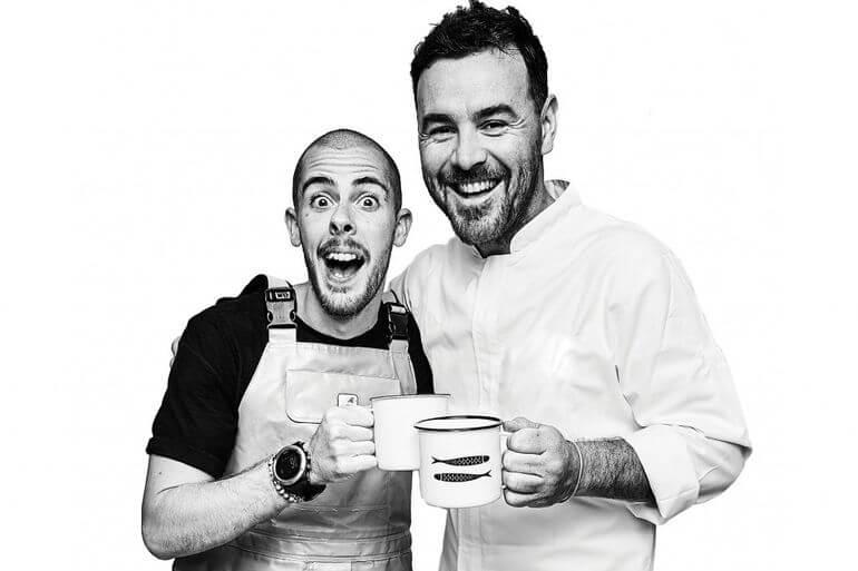 Federico Bonaccorso y Rodrigo Arrotge. La PezQuería, Formentera