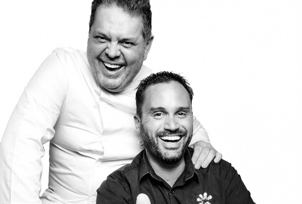 Denhez Christophe y Juan Craywinckel, restaurante Gecko hotel & beach club