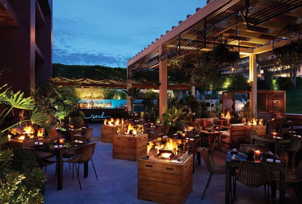 Restaurante Soul Garden. Corinthia Hotel, Lisboa